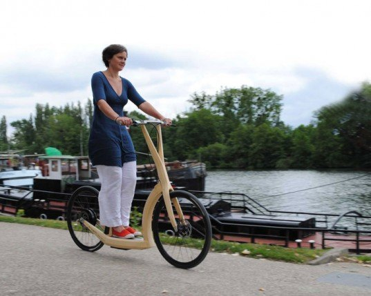 Antoine Fritsch, t2o bike, T2O Trotinette Bambou, bamboo bike, bamboo bicycle, electric bike, electric bicycle, electric bamboo bicycle, bamboo frame bike, green transportation, green bikes, eco bikes, bamboo, renewable materials