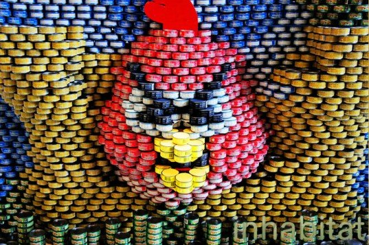 15 Inspiring Design Ideas: 13 Gravity-Defying Sculptures Made From Food Cans At