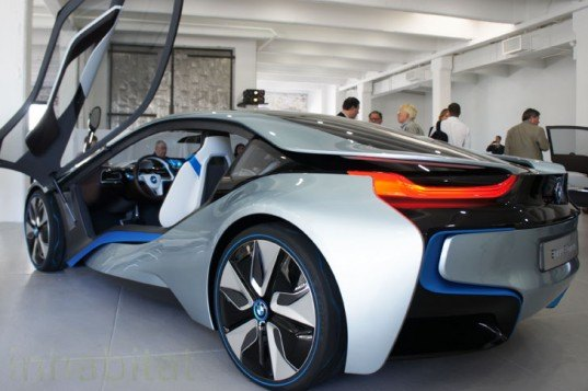 Photos Bmw Unveils I3 Electric Car And I8 Hybrid Electric Vehicle