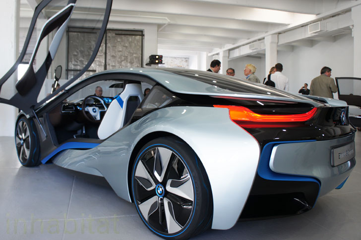 Perfect PHOTOS: BMW Unveils I3 Electric Car And I8 Hybrid Electric Vehicle On US  Soil For The First Time! | Inhabitat   Green Design, Innovation,  Architecture, ...