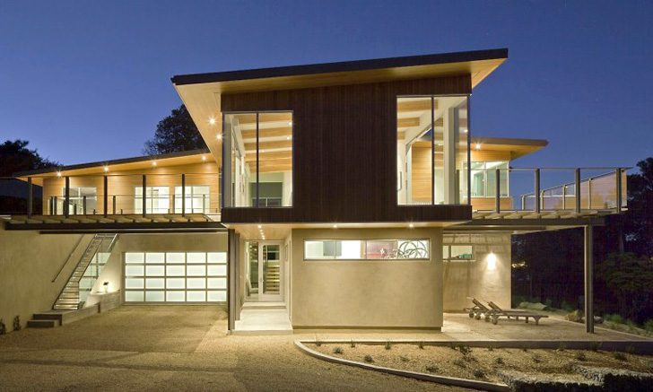 Gorgeous leed h tiburon house is a custom built energy for Butler building house