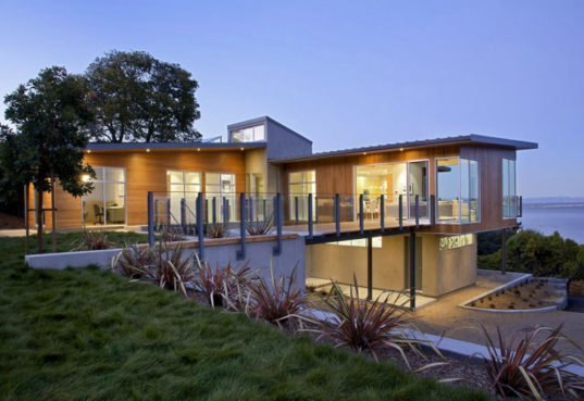 Gorgeous Leed H Tiburon House Is A Custom Built Energy
