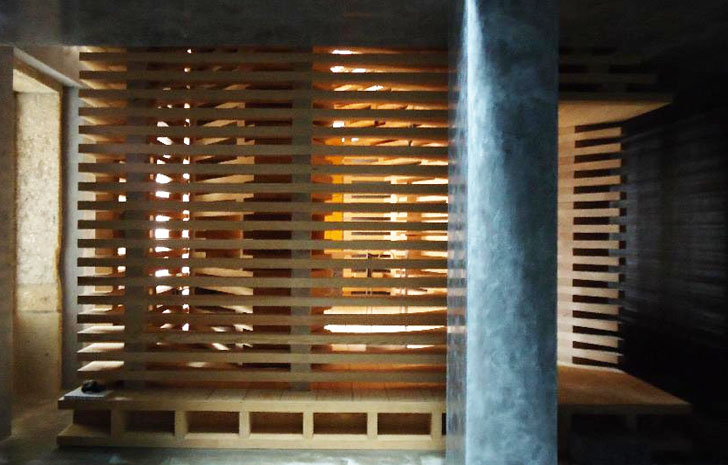 Modular Wooden Tree of Life Chapel Features Slatted Walls for Inspiring  Light and Storage Cerejeria Fontes Tree Of Life  Inhabitat - Green Design,  ...