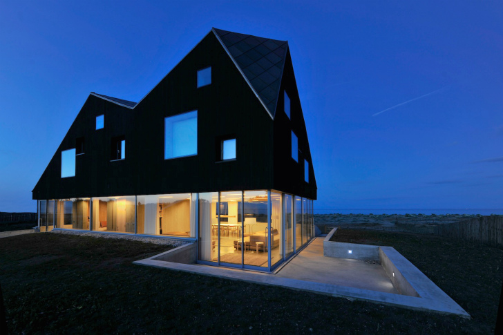 The Dune House: A Striking Daylit Vacation Home For Architecture Lovers In  Suffolk. Architecture