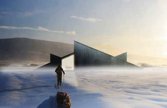 green design, eco design, sustainable design, Mountain Hill Cabin, Fantastic Norway, Ski slopes, Ål, Norway, sledding, winter retreat, ski cabin