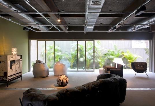 Firma Casa, Sao Paolo, Brazil, Super Limao, Super Limao Studio,furniture store, campana brothers, green wall, 3500 vases, green design, sustainable design, green design, elastopave, rainwater drainage, industrial chic,