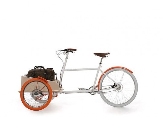 Ron Arad, feats per second, bicycles, bikes, green design, eco design, sustainable design, green transportation, steel wheel bike, WOW, Yves Behar, Silverback, bicycle library, round tail bike, Oracle Beater, Ghana, paper-making bike, cargo bikes, USB charger