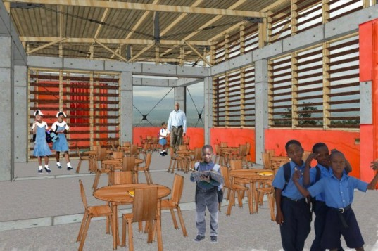 Haiti Partner's Children's Academy, BAR Architects, haiti, eco school, architecture for humanity, port-au-prince, humanitarian design