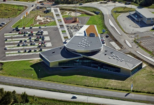 Inspiria Science Center, Aart Architecture, science education center, norway, renewable energy, environmental education, green building
