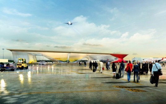 Kutaisi Airport, UNStudio, eco airport, georgia, international airport, green airport