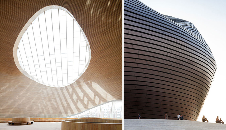 MAD Architects Complete Passive Solar Ordos Museum Inspired by the Gobi Desert