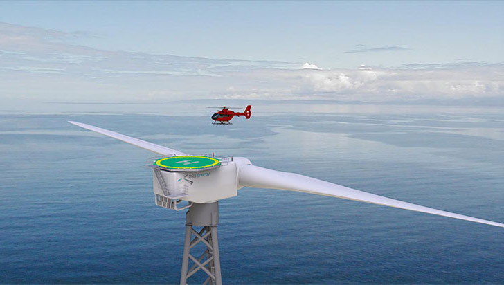 Scotland To Build Two Blade Offshore Wind Turbine With