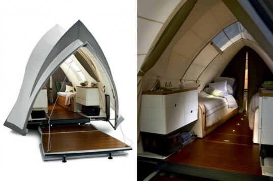 Opera C&er opera c&er pop up c&er trailer small space living  sc 1 st  Inhabitat & Sydney Opera House-Inspired Camper Combines Luxury u0026 Tiny Living On ...