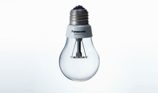 Panasonic Designs Energy Efficient Led Bulb That Looks Like An Incandescent Inhabitat Green