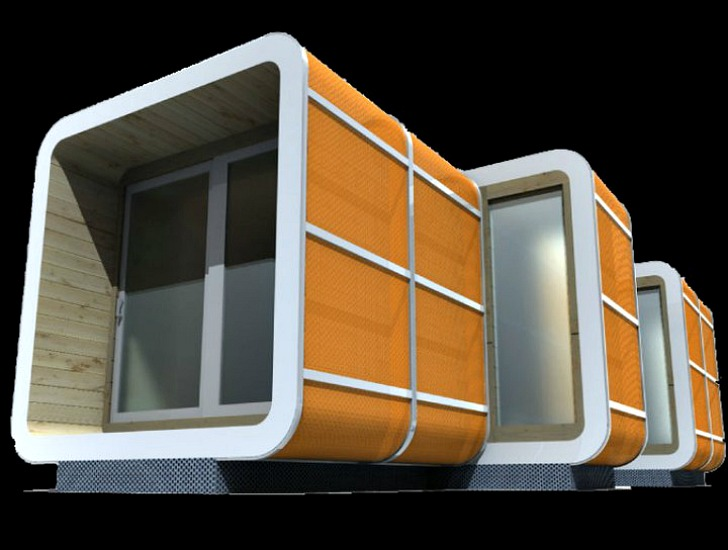 Attirant Sliding Hubs Prefab Modular Housing Has 64 Different Combinations