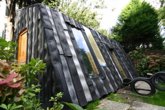 Garden Sheds From Recycled Materials maisongomme: a funky garden office and shed made from recycled car