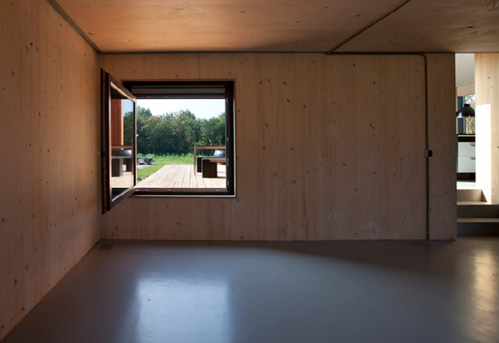 The Rubber House Is A Prefab Home Made From Secondhand
