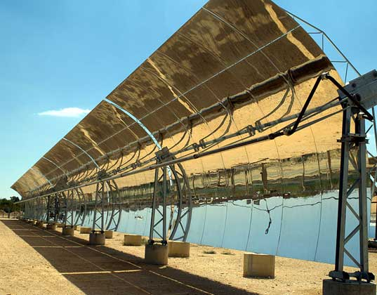 green design, eco design, sustainable design, Desertec Solar Energy Project, Sahara Desert, Morocco Solar plant, CSP, solar energy, renewable energy pledge, solar plant
