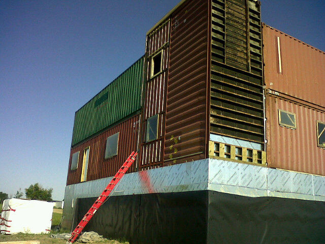 Sea Can House Is Made Completely From Shipping Containers