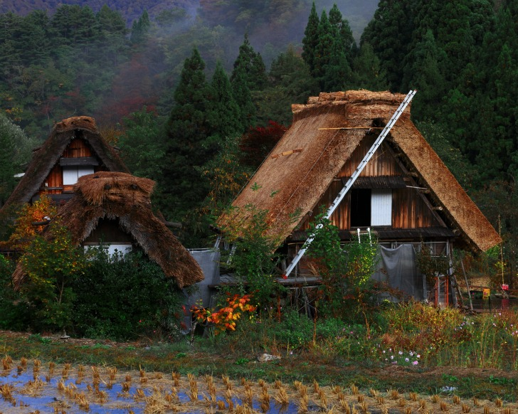 Two Japanese Mountain Villages Are Beautiful Examples Of