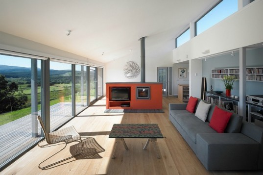 The Houl, Simon Winstanley Architects, net zero, net zero house, wind power, scotland, passiv haus