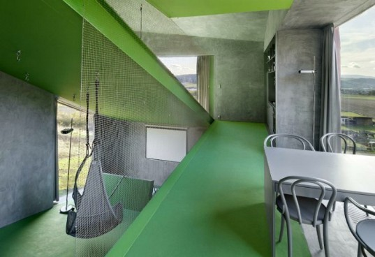 Vila Hermina, HSH Architekti, micro house, nano house, czech republic, small space living