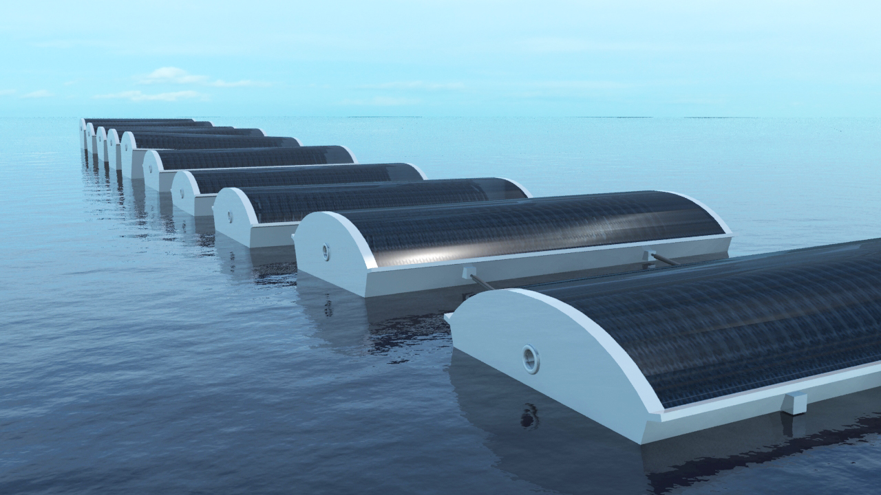 Solar Cucumber Harvests Fresh Drinking Water From the Ocean