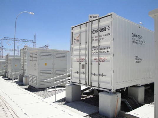 large li-ion battery,wind farm, utility scale battery storage, green power, wind power storage, eco grid power, a123 grid, large battery bank, West Virginia, wind power fluctuation, power, AES Corporation, wind power grid supply