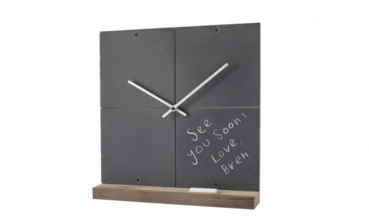 chalkboard clock, green gifts for the home, home gifts, gifts for the kitchen, gifts for interiors, green decor gifts, green housewares gifts, green holiday, green gift guide, green holiday gift guide, eco holiday, green xmas, green christmas, eco xmas, eco christmas, environmentally friendly gifts, eco friendly gifts, green presents, environmentally friendly presents, eco friendly presents, green home gifts