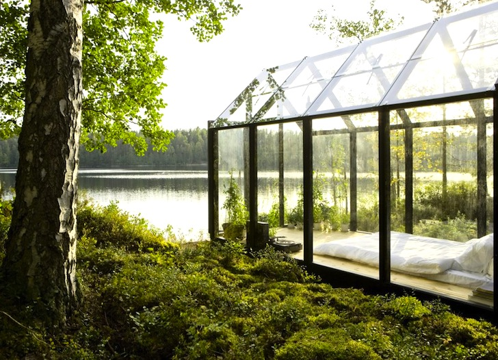 SolarPowered Greenhouse in Finland Doubles as a Spare Summer Room – Greenhouse Garden Shed Plans