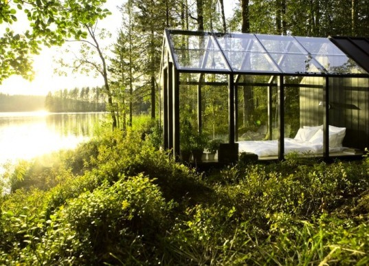 green design, sustainable design, eco-design, greenhouse, toolshed, Garden Shed, Finland, Avanto Architects, solar powered, recycled materials, sustainable timber, summer cottage, prefabricated design, prefab, Ville Hara, Linda Bergroth, Kekkilä Garden