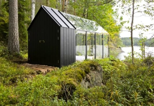 Solar Powered Greenhouse In Finland Doubles As A Spare