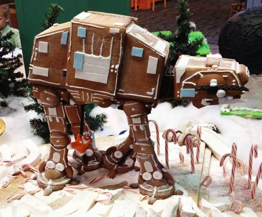 Gingerbread AT-AT
