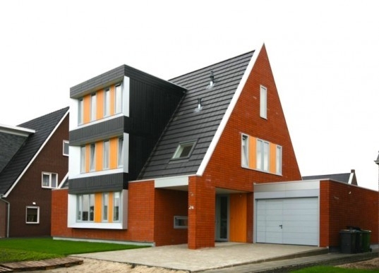 Lautenbag, Lautenbag Architectuur, Dutch House, Hoefman House, passive design, energy footprint, the Netherlands, green design, sustainable design, eco design, daylighting, reduced solar gain, small footprint