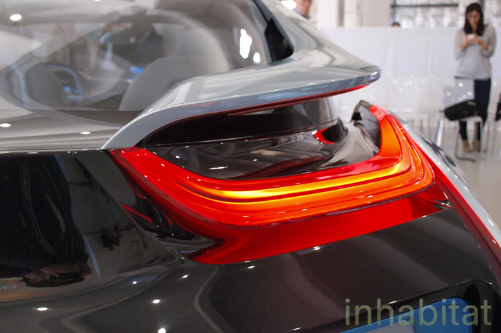 Bmw I8 Hybrid Electric Car Tail Light Inhabitat Green Design