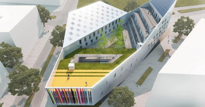 Jd S Cake Decorating Center : jds youth center lille   Inhabitat   Green Design ...