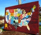Design Turnpike Turns Old License Plates Into Cool US Maps!