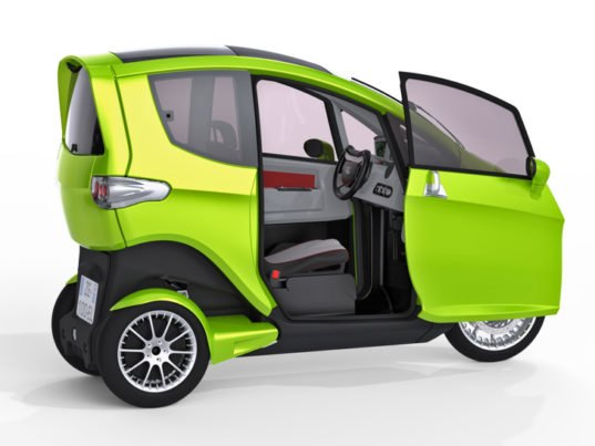 Synergethic S 3 Wheeled Tilter Electric Vehicle Is Part