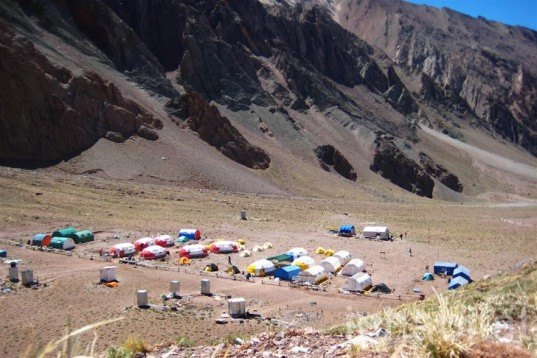 Water Issues,Renewable Energy,green technology,Green Lighting,Eco Tourism,Eco Travel,prefab architecture,solar panels,renewable energy,geodesic dome house,mule,aconcagua,argentina,andes mountains,green camping,