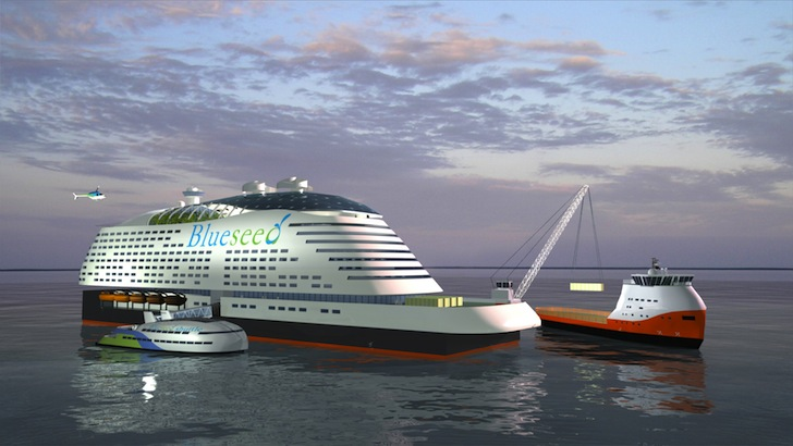 Modern Ship Design : New illuminati seasteading crashing the government monopoly