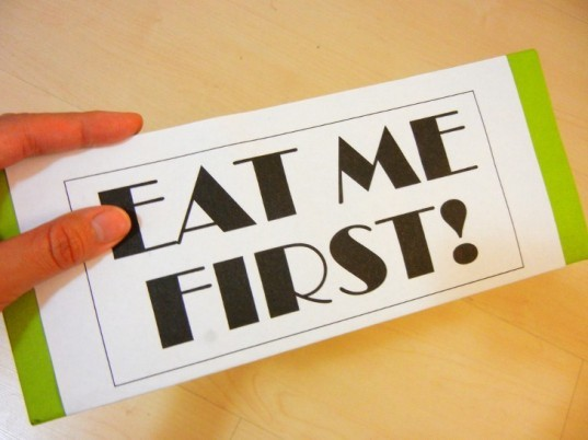 stop wasting food, eat me first box, fridge box, refrigerator box, fridge triage, food waste, green design, eco design, sustainable design, how to make an eat me first fridge box, how to stop wasting food, how to save money on groceries