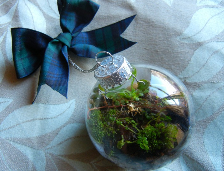 How To Make Christmas Ornaments Part - 47: DIY: How To Make A Terrarium Christmas Ornament!