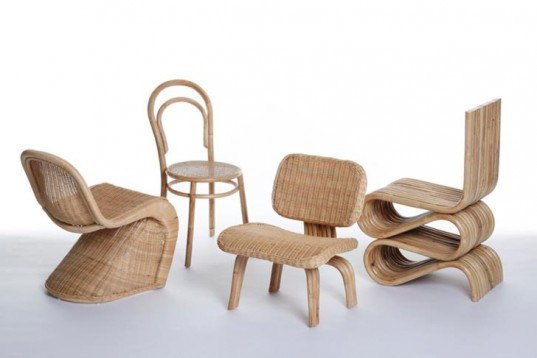 Sustainable Materials,Recycling / Compost,Green Products,Green Materials,green furniture,Botanical,bamboo furniture,reed furniture,fast growing,french designer,london design,design classics,iconic chairs,verner panton,Michael Thonet,Charles and Ray Eames,frank ghery