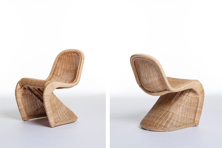 bamboo modern furniture. Made In China: Émilie Voirin Reinterprets Iconic Chairs Biodegradable Bamboo And Rattan | Inhabitat - Green Design, Innovation, Architecture, Modern Furniture