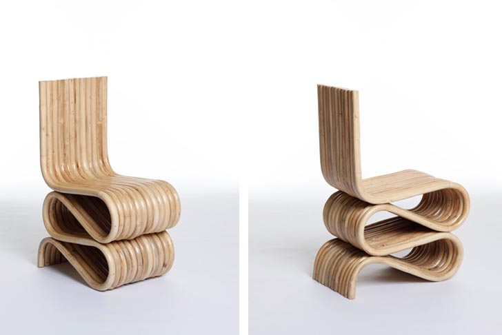 bamboo modern furniture. Made In China: Émilie Voirin Reinterprets Iconic Chairs Biodegradable Bamboo And Rattan | Inhabitat - Green Design, Innovation, Architecture, Modern Furniture M