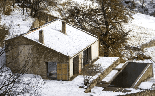 Ábaton, Converted Stable, Solar power, Hydro-Powered, clean tech, green design, sustainable design, renovation, eco-design, natural materials, alternative energy, Country Estate, Spain, Extremadura, Caceres, adaptive reuse, low environmental impact