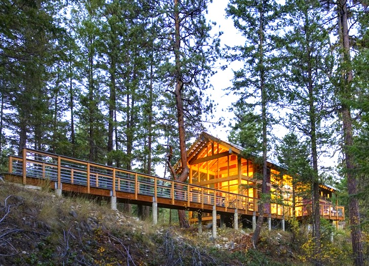 Airy foster loop cabin in washington state is a high for Architect washington state