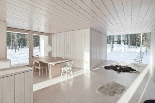 Four-Cornered Villa, Avanto Architects, off grid, off grid cabin, low impact retreat, finland