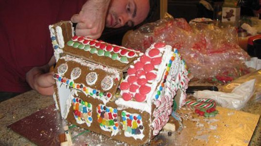green design, eco design, sustainable design, Gingerbreadtron, Brian Hall, robot gingerbread house, transformer gingerbread house