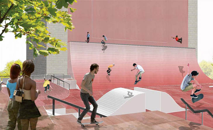 Hao Architects Win Coleman Oval Skate Park Redesign
